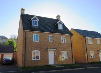 Thumbnail 5 bed detached house for sale in Scarsdale Way, Grantham