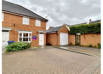 Thumbnail 3 bed end terrace house for sale in Curlew Drive, Chippenham