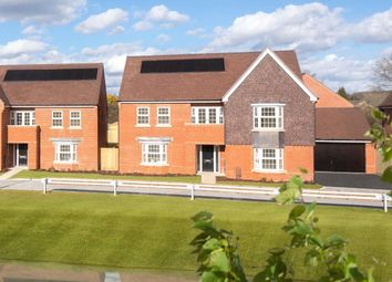 Thumbnail 5 bed detached house for sale in Oakhill Gardens, Gravel Hill, Swanmore