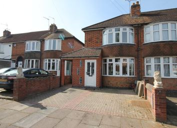 Thumbnail 2 bedroom town house for sale in Bradston Road, Aylestone, Leicester