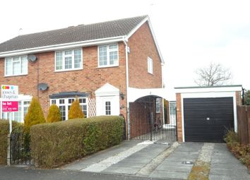 Thumbnail 3 bed semi-detached house to rent in Summertrees Avenue, Greasby, Wirral
