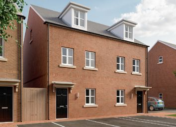 Thumbnail 1 bed town house for sale in The Burghclere, Fetlock Drive, Newbury, Berkshire