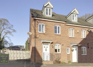 3 bed town house for sale in Rose Flower Grove, Hucknall, Nottinghamshire NG15