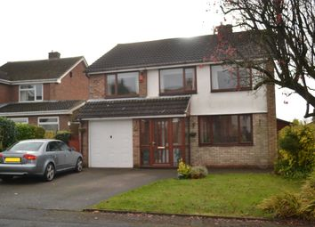 Thumbnail 4 bed detached house for sale in Shefford Road, Newcastle-Under-Lyme