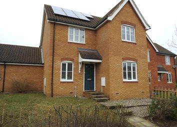 Thumbnail 4 bed detached house to rent in Brook Farm Road, Saxmundham, Suffolk