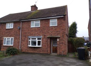 Thumbnail 3 bed semi-detached house for sale in Central Avenue, Syston, Leicester, Leicestershire