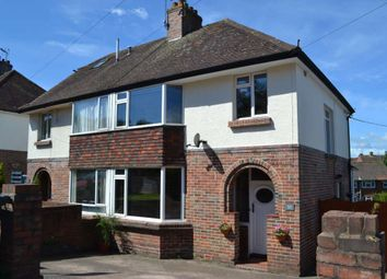 Thumbnail 3 bed semi-detached house for sale in Bradham Lane, Exmouth