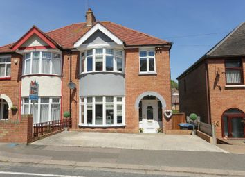 Thumbnail 4 bed semi-detached house for sale in Markland Road, Dover