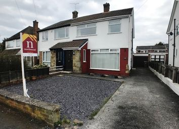 Thumbnail 3 bedroom semi-detached house to rent in Rusland Avenue, Pensby, Wirral