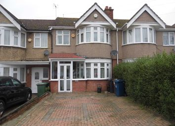 Thumbnail 3 bed terraced house to rent in Lynton Road, Harrow