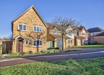 Thumbnail 3 bed detached house for sale in Flamsteed Drive, Hinchingbrooke, Huntingdon, Cambridgeshire