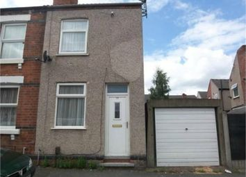 Thumbnail 2 bedroom end terrace house for sale in Blake Street, Ilkeston, Derbyshire.