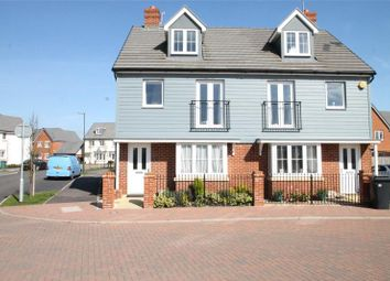 Thumbnail 3 bed semi-detached house for sale in Coleridge Crescent, Kingley Gate, Littlehampton
