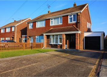 Thumbnail 3 bed semi-detached house for sale in Millers Barn Road, Clacton-On-Sea