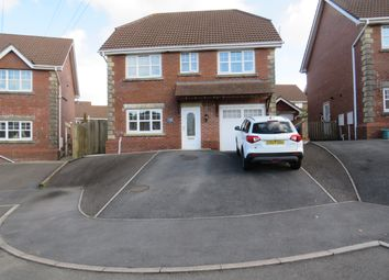 Thumbnail 4 bed detached house for sale in Maes Conwy, Llanelli
