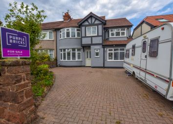 Thumbnail 5 bed semi-detached house for sale in Irby Road, Heswall, Wirral