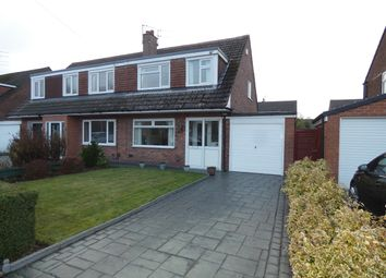 Thumbnail 3 bed semi-detached house for sale in Arundel Avenue, Hazel Grove, Stockport