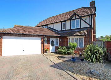 Thumbnail 4 bed detached house for sale in Montgomeri Drive, Rustington, Littlehampton