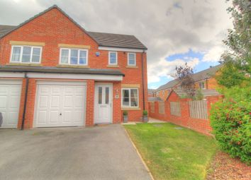 Thumbnail 3 bed semi-detached house for sale in Barrowby Close, Garforth, Leeds