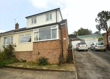 Thumbnail 4 bed semi-detached house for sale in Banksfield Crescent, Yeadon, Leeds