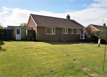 Thumbnail 2 bedroom detached bungalow for sale in Winston Rise, Alton