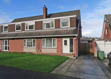 Thumbnail 3 bedroom semi-detached house for sale in Knapps Close, Elburton, Plymouth, Devon