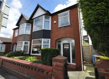 Thumbnail 3 bed property for sale in Norfolk Avenue, Heaton Chapel, Stockport, Greater Manchester