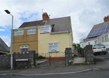 Thumbnail 2 bedroom semi-detached house for sale in Pentyla Road, Swansea