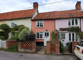 Thumbnail 2 bed terraced house for sale in Cross Street, Hoxne, Eye, Suffolk