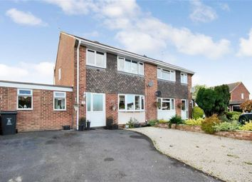 Thumbnail 4 bed semi-detached house for sale in Savill Crescent, Wroughton, Swindon