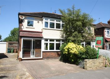 Thumbnail 3 bedroom semi-detached house for sale in Strodes Crescent, Staines-Upon-Thames, Surrey