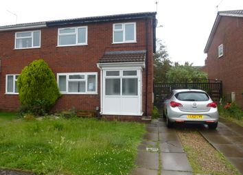 Thumbnail 3 bed semi-detached house for sale in Framlingham Close, Great Yarmouth