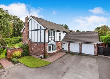 Thumbnail 4 bed detached house for sale in April Rise, Macclesfield