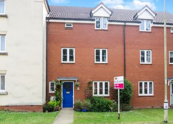 Thumbnail 3 bed terraced house for sale in Kestrel Close, Tiverton