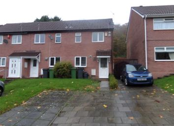 Thumbnail 1 bedroom end terrace house to rent in Cwrt Yr Ala Road, Caerau, Cardiff