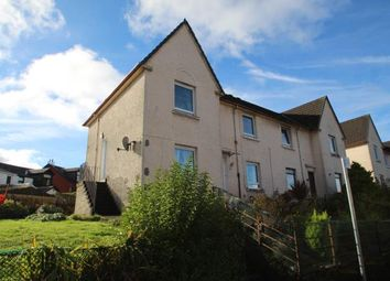 Thumbnail 2 bed flat for sale in Belville Avenue, Greenock, Inverclyde