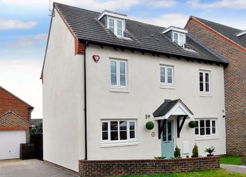 Thumbnail 5 bed end terrace house for sale in Lucksfield Way, Angmering, Littlehampton