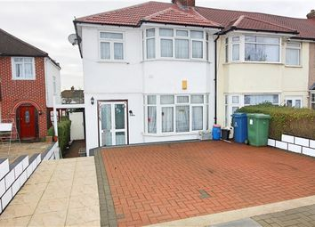 Thumbnail 3 bed end terrace house to rent in Mollison Way, Edgware
