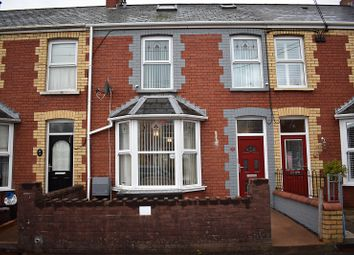Thumbnail 4 bed terraced house for sale in St. Brides Road, Aberkenfig, Bridgend.