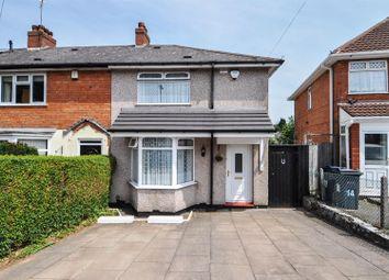 Thumbnail 3 bed semi-detached house to rent in Norrington Road, Northfield, Birmingham