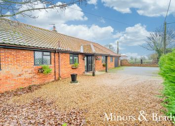 Thumbnail 4 bed barn conversion for sale in Church Road, Limpenhoe, Norwich