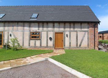 Thumbnail 3 bedroom barn conversion for sale in Barn 4, Ryebank Farm, Wem, Shrewsbury