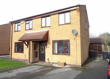 Thumbnail 3 bed semi-detached house for sale in Newquay Close, Hinckley