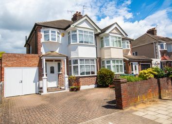 Thumbnail 3 bed semi-detached house for sale in Lulworth Drive, Pinner, Middlesex