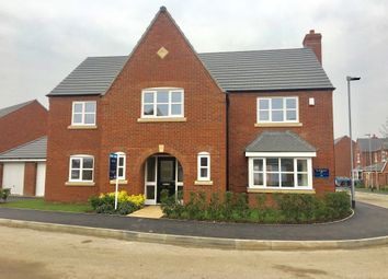 Thumbnail 4 bed detached house for sale in Cosby Road, Littlethorpe, Leicester