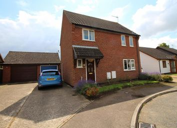 Thumbnail 3 bedroom detached house for sale in Ives Close, Diss