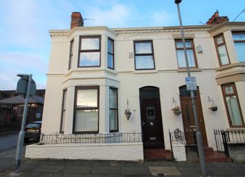 Thumbnail 3 bed end terrace house for sale in Clovelly Road, Liverpool