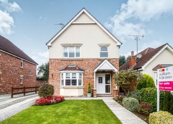 Thumbnail 4 bed detached house for sale in The Orchard, Leven, Beverley