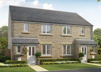 """Thumbnail 3 bed town house for sale in """"The Hanbury (Split Level)"""" at Crosland Road, Oakes, Huddersfield"""