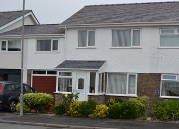 Thumbnail 5 bed semi-detached house for sale in Bro Cymerau, Pwllheli